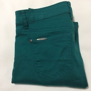 Celebrity Pink Juniors 9 Skinny Stretch Turquoise
